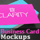Hyper Realistic Business Card Mockup Pack - GraphicRiver Item for Sale