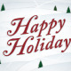 """""""Happy Holidays"""" Seasonal Greeting Card - GraphicRiver Item for Sale"""