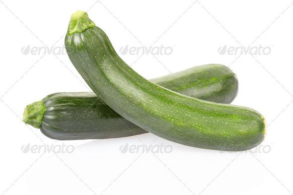 Fresh zucchini - Stock Photo - Images