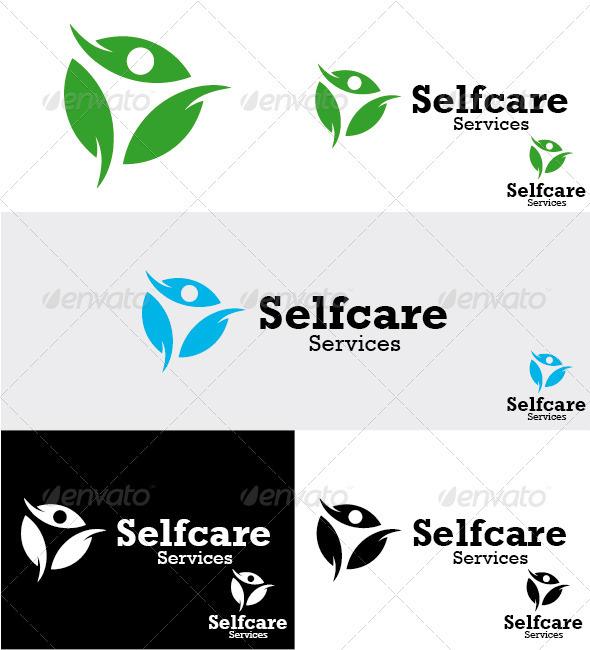 Selfcare Services Logo - Humans Logo Templates