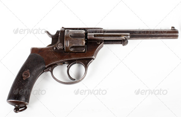 old pistol - Stock Photo - Images