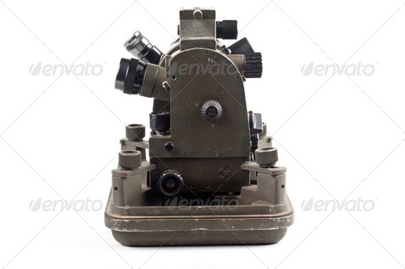 small theodolite - Stock Photo - Images