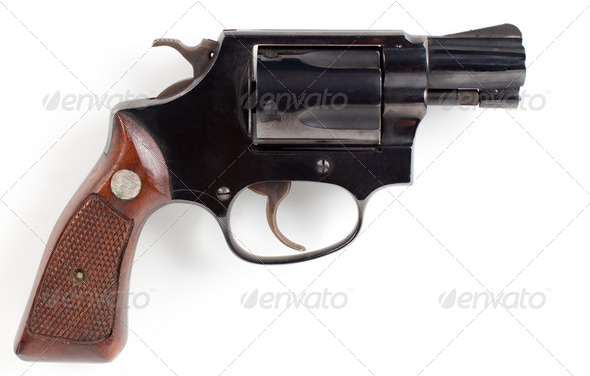 small pistol - Stock Photo - Images