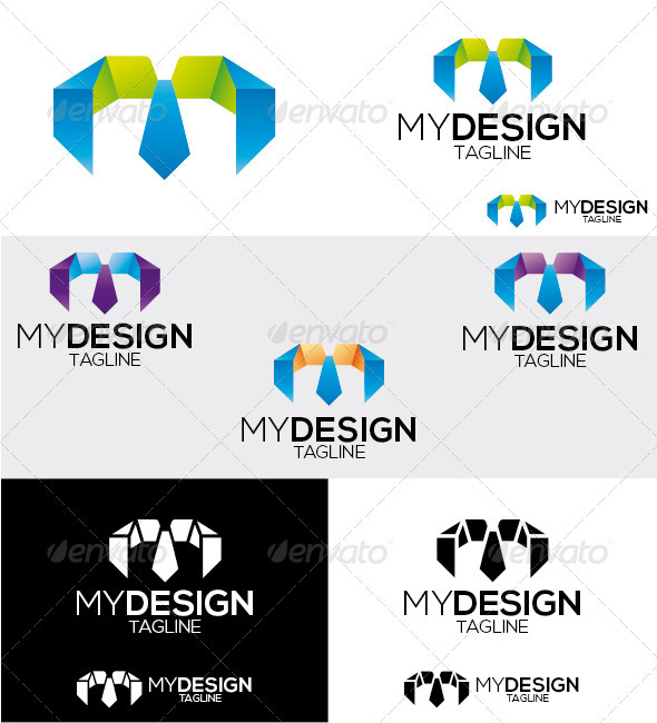 Mydesign Logo - Letters Logo Templates