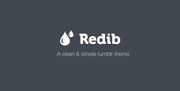 Redib Tumblr Template - Blog Tumblr