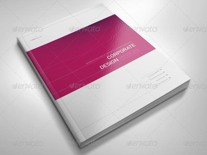 Manual Design Templates. brand manual template vol 2 brochure ...