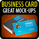 Great Business Card Mock-up Pack - 4 Styles - GraphicRiver Item for Sale