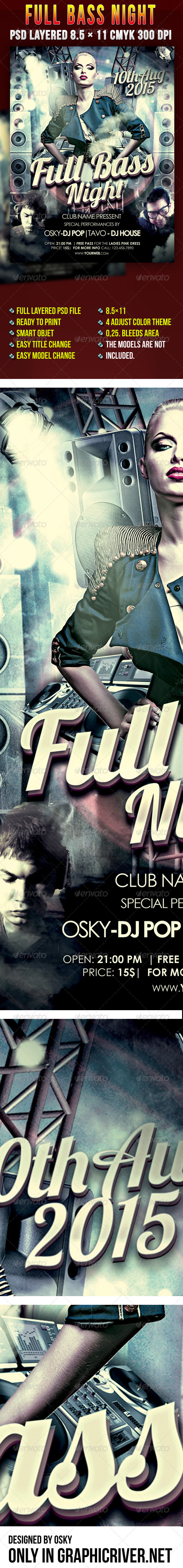 Full Bass Night - Clubs & Parties Events