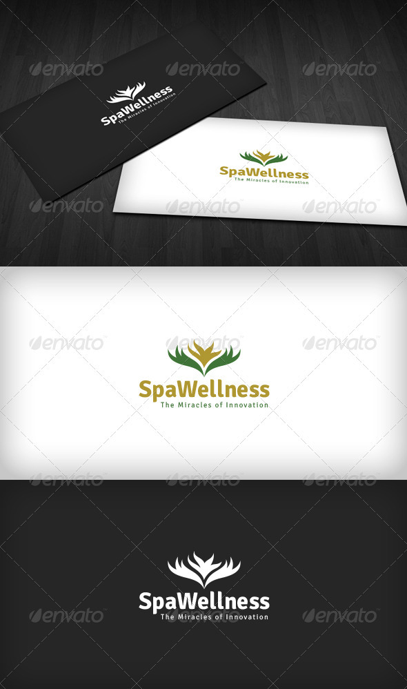 Spa Wellness Logo - Nature Logo Templates