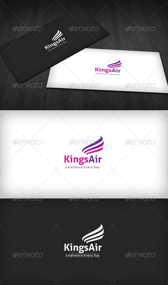 Kings Air Logo - Vector Abstract