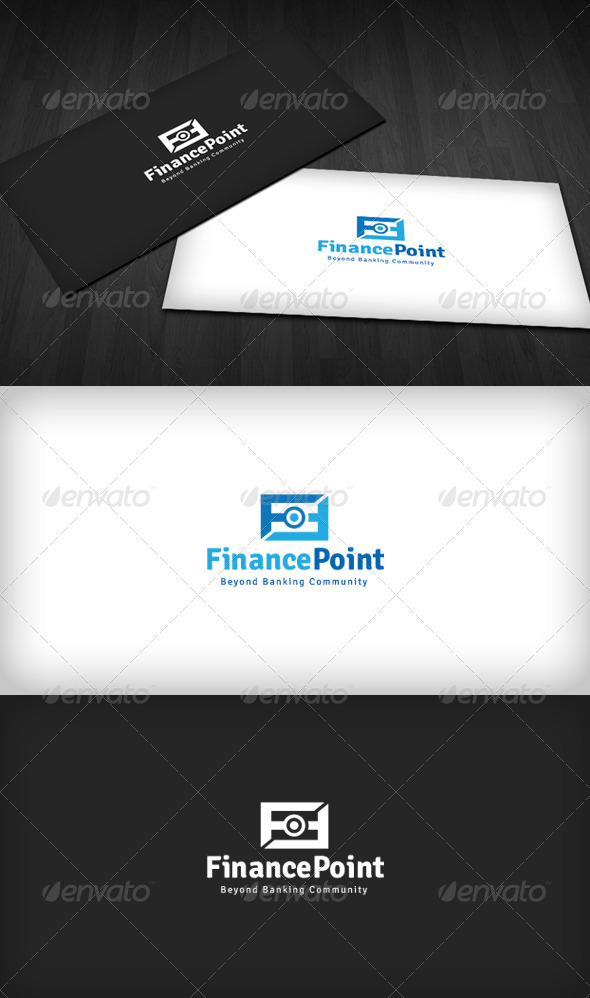 Finance Point Logo - Letters Logo Templates