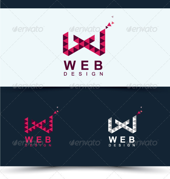 Web Design - Letters Logo Templates