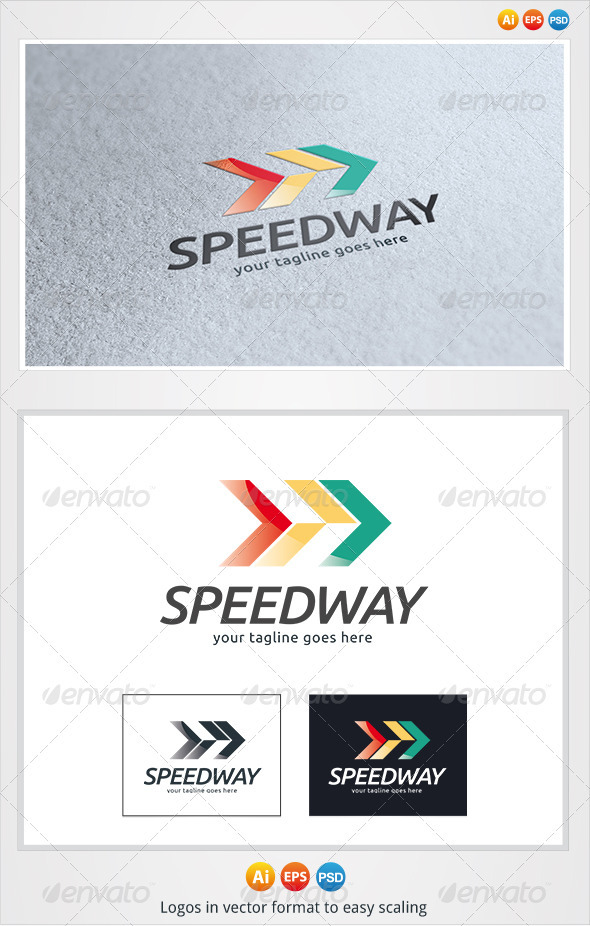 Speed Way Logo - Symbols Logo Templates