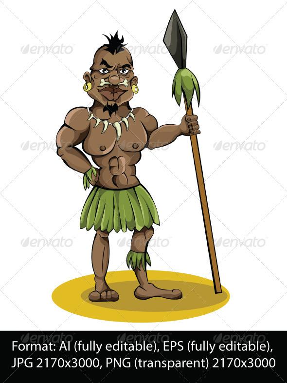 Aborigine - Characters Vectors