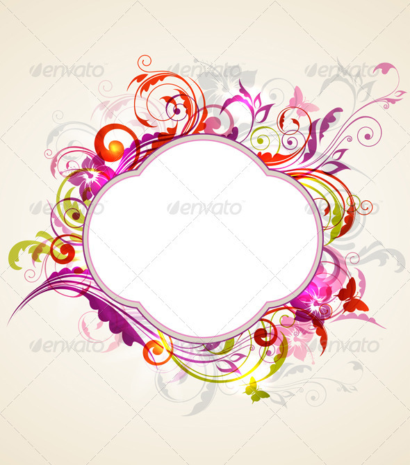 Label and Ornament - Backgrounds Decorative