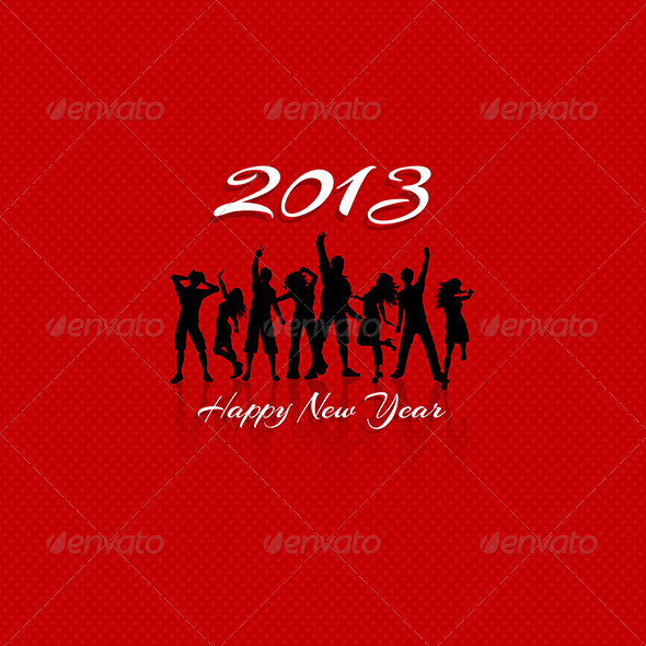 New Year Party background - New Year Seasons/Holidays