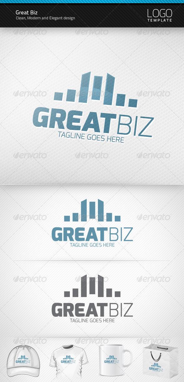 Great Biz Logo - Symbols Logo Templates
