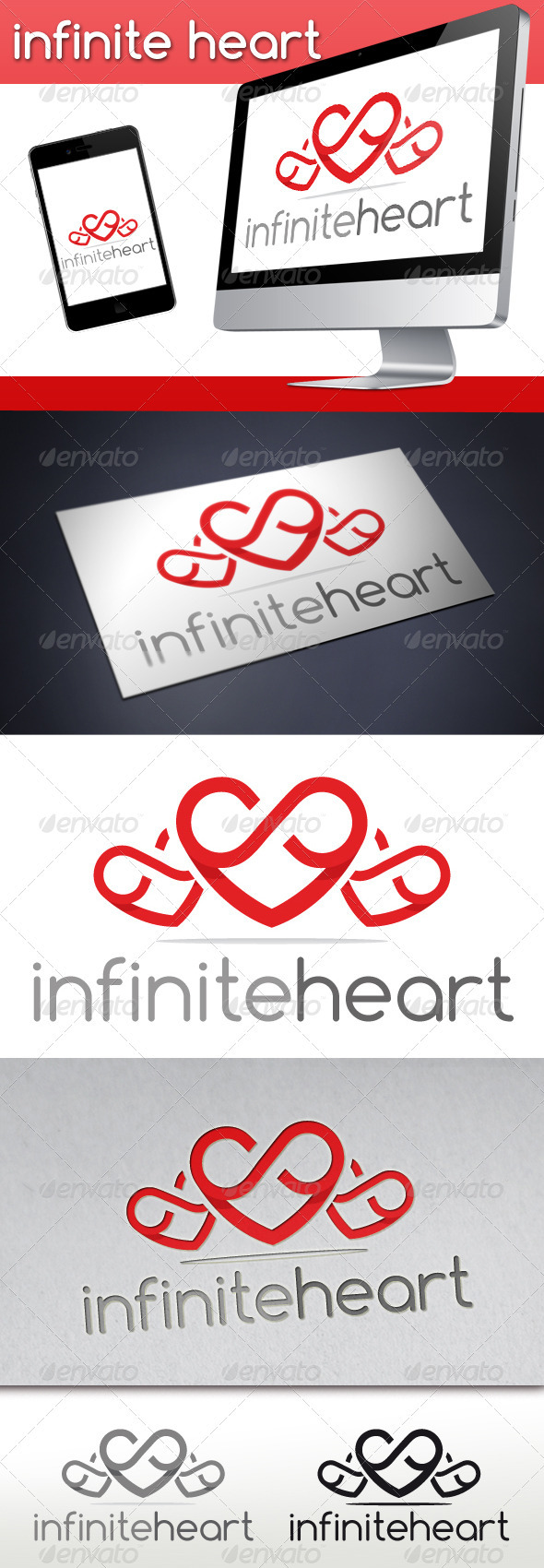 Infinite Love Logo - Symbols Logo Templates