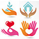 16 vector signs of love and care  - GraphicRiver Item for Sale
