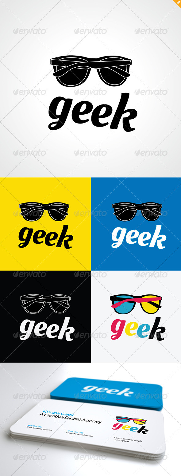 Geek Logo - Objects Logo Templates