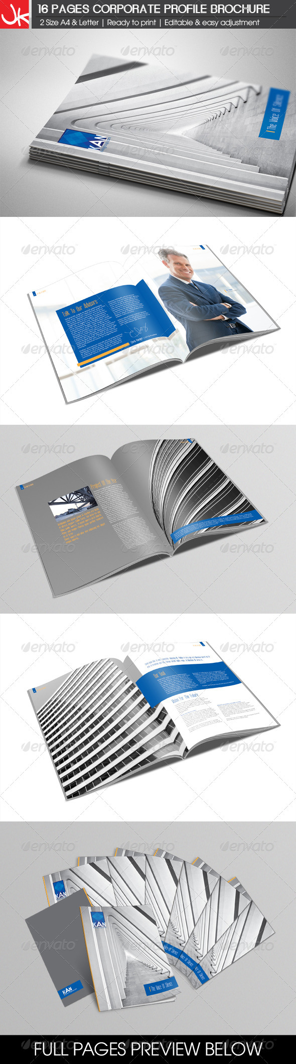 16 Pages Corporate Profile Brochure - Corporate Brochures