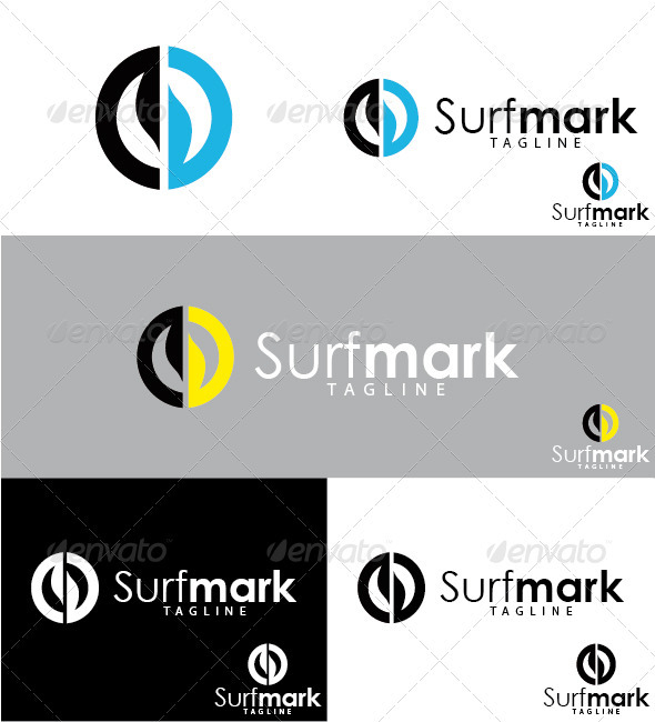 Surfmark Logo - Symbols Logo Templates