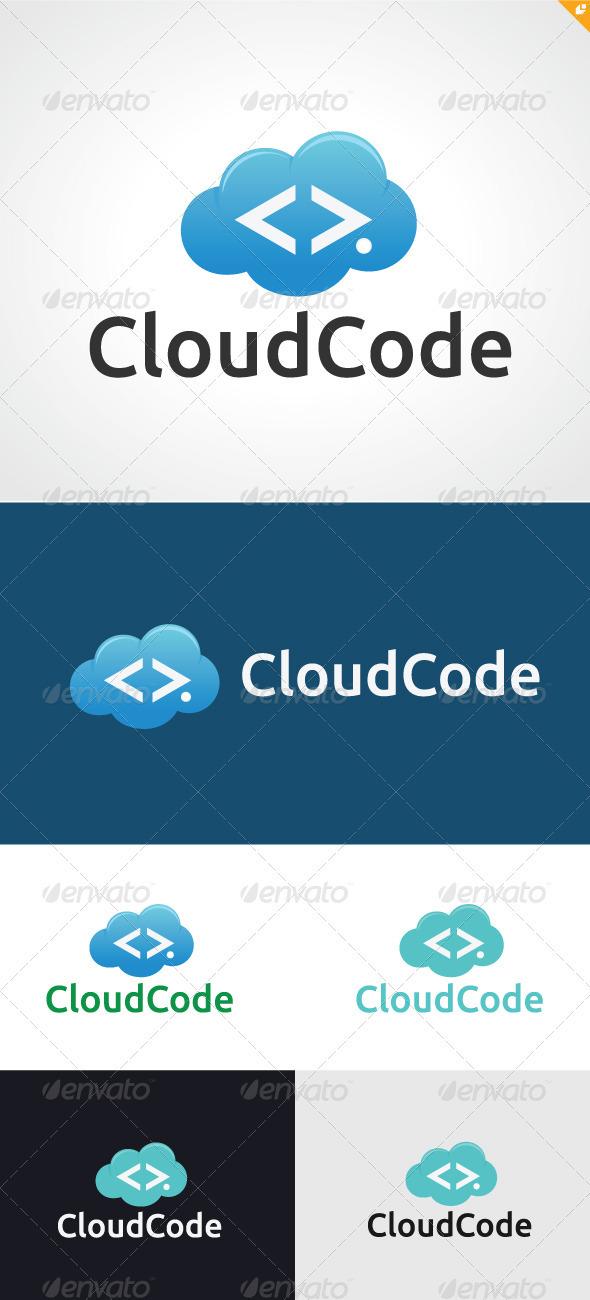 Cloud Code Logo - Humans Logo Templates