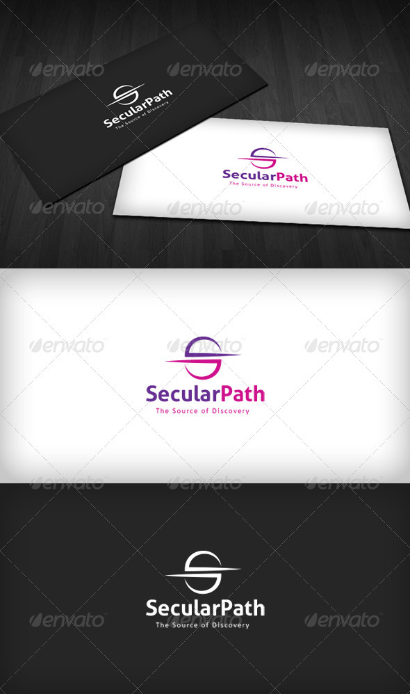 Secular Path Logo - Letters Logo Templates