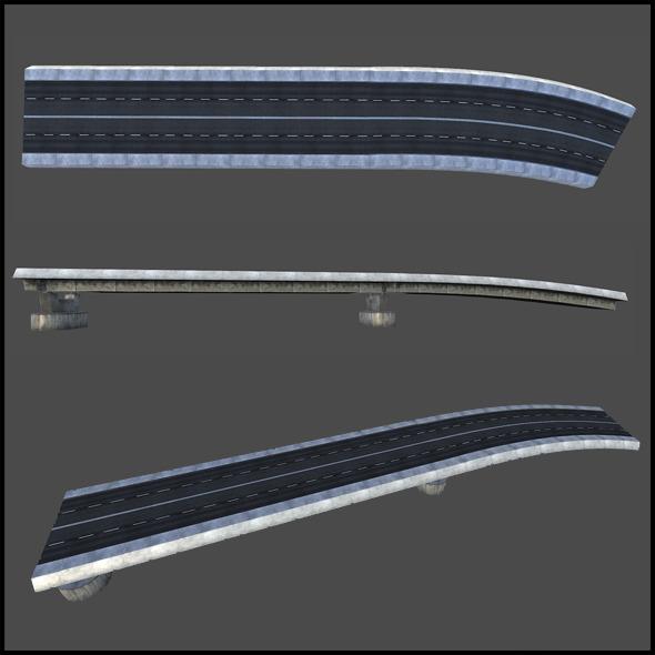 Concrete Bridge - 3DOcean Item for Sale