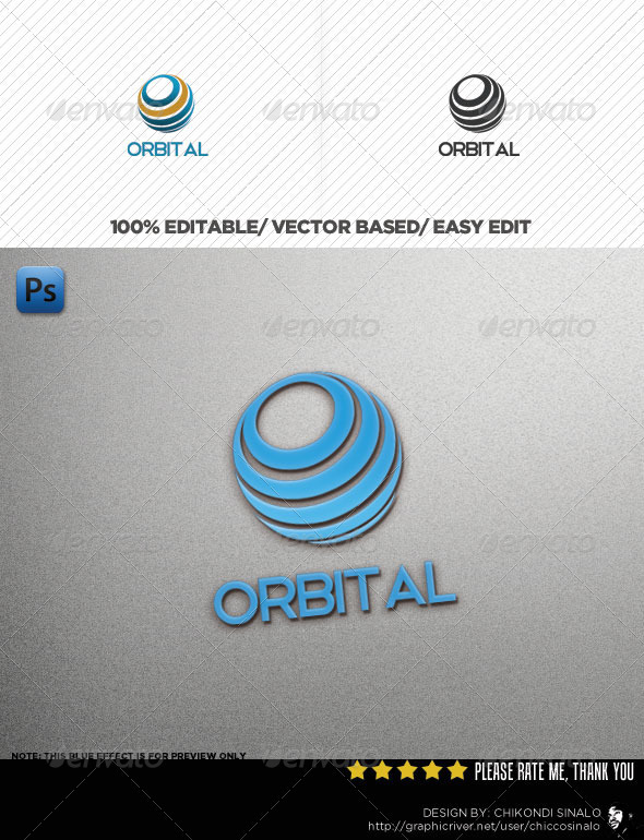 Orbital Logo Template - Abstract Logo Templates