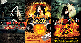 Halloween Flyer Bundle