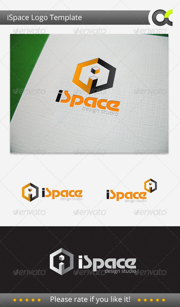 iSpace Deisgn Studio - Objects Logo Templates