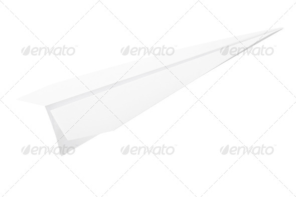 Paperplane - Stock Photo - Images