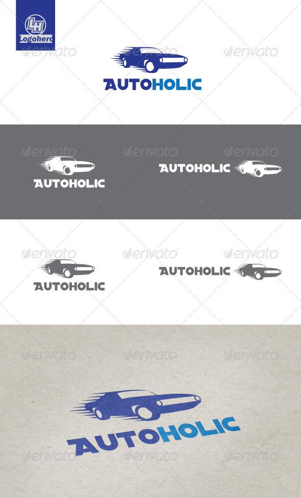 Auto Holic Logo Template - Objects Logo Templates