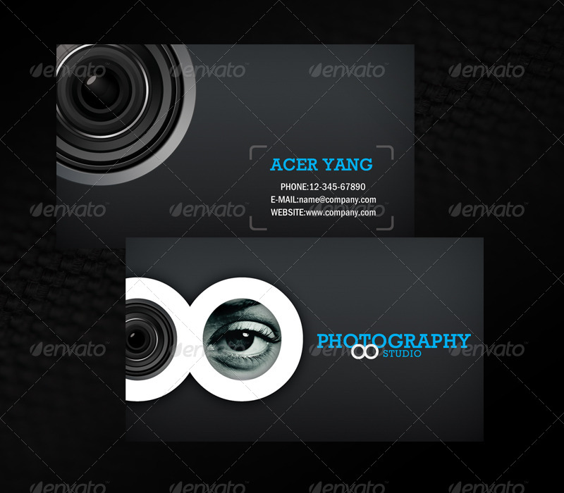 Photography Studio Business Card by acerchina | GraphicRiver