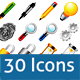 Right Angled Icons - GraphicRiver Item for Sale