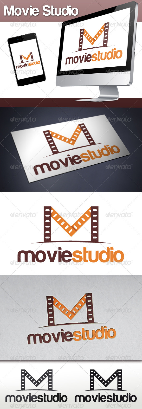 Movie Lab Logo - Letters Logo Templates