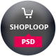 Shoploop: clean and modern open cart PSD - ThemeForest Item for Sale