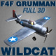 Grumman F4F Wildcat - 3Ds model of WW2 aircraft