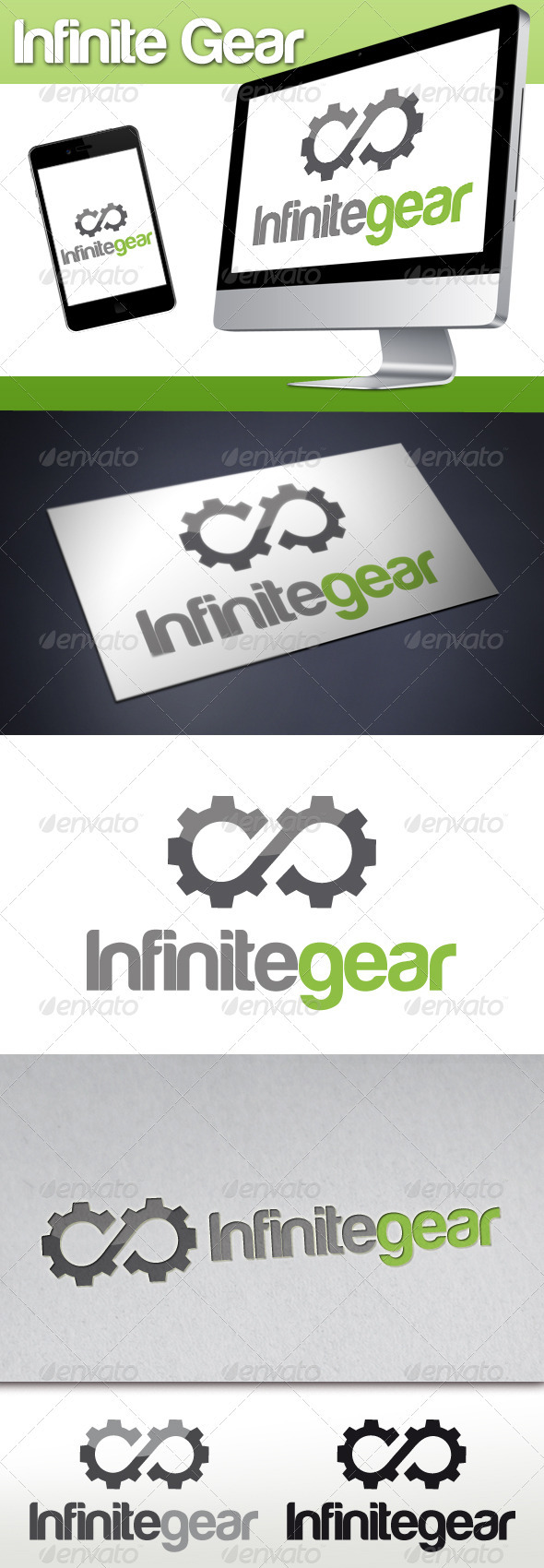 Infinite Gear Logo - Objects Logo Templates