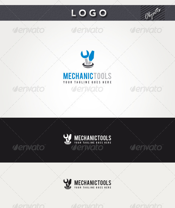 Mechanic Tools Logo - Objects Logo Templates