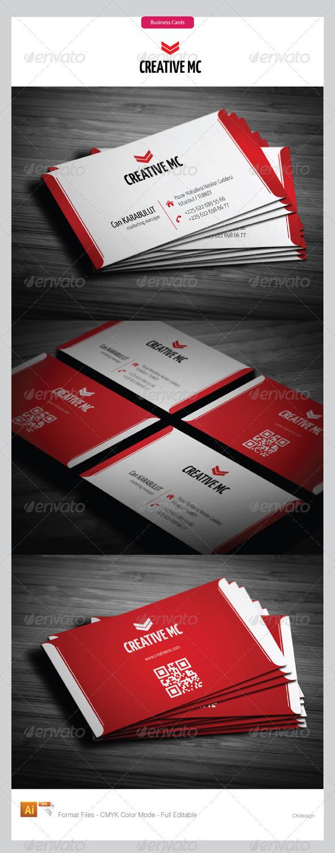 Corporate  Business Cards 156 - Corporate Business Cards