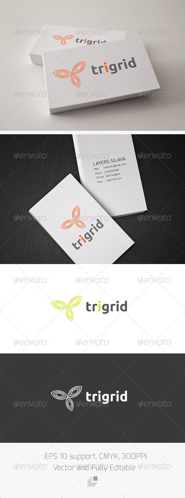 Trigrid Logo - Vector Abstract