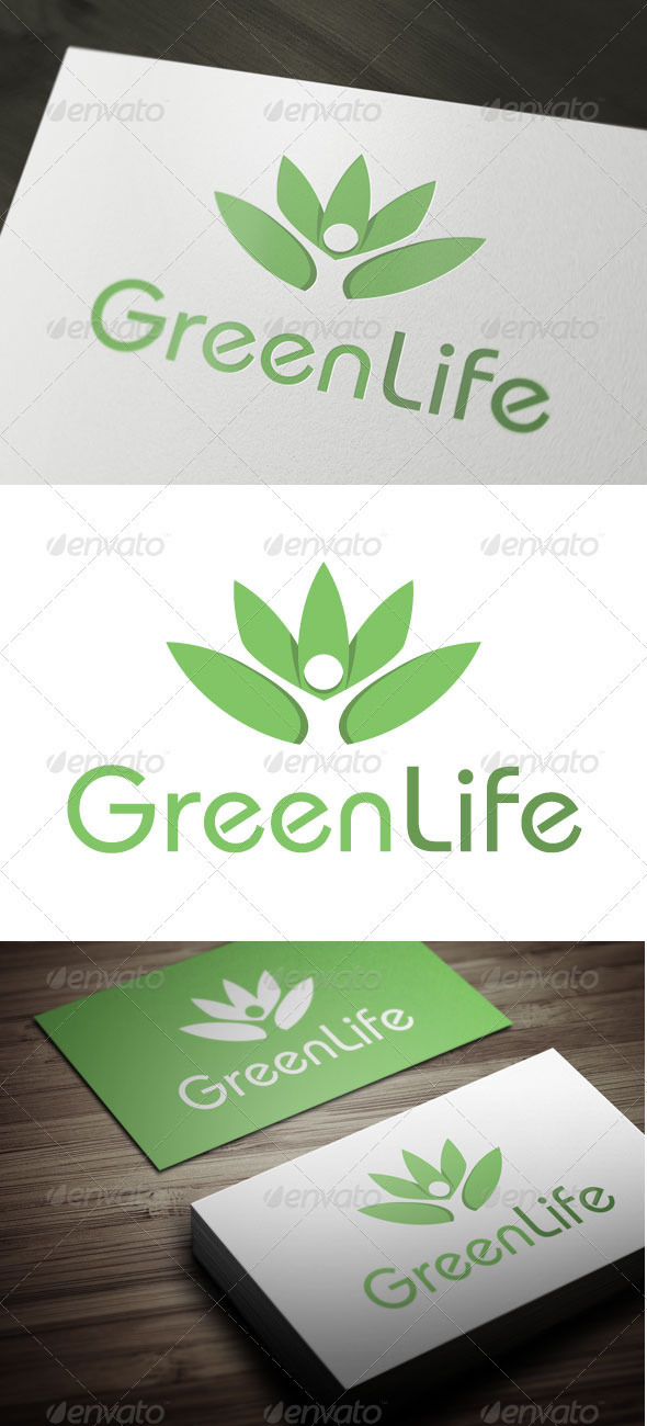 Green Life - Nature Logo Templates