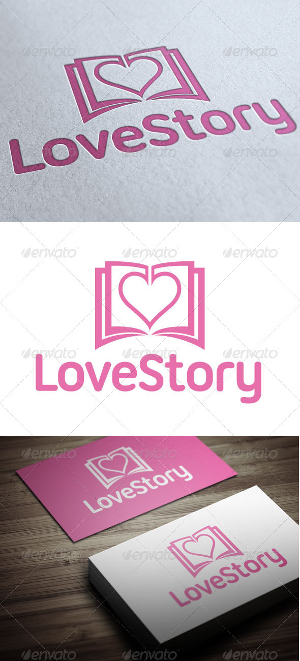 Love Story - Objects Logo Templates