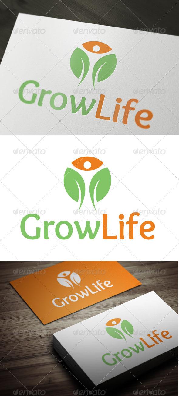 Grow Life - Nature Logo Templates