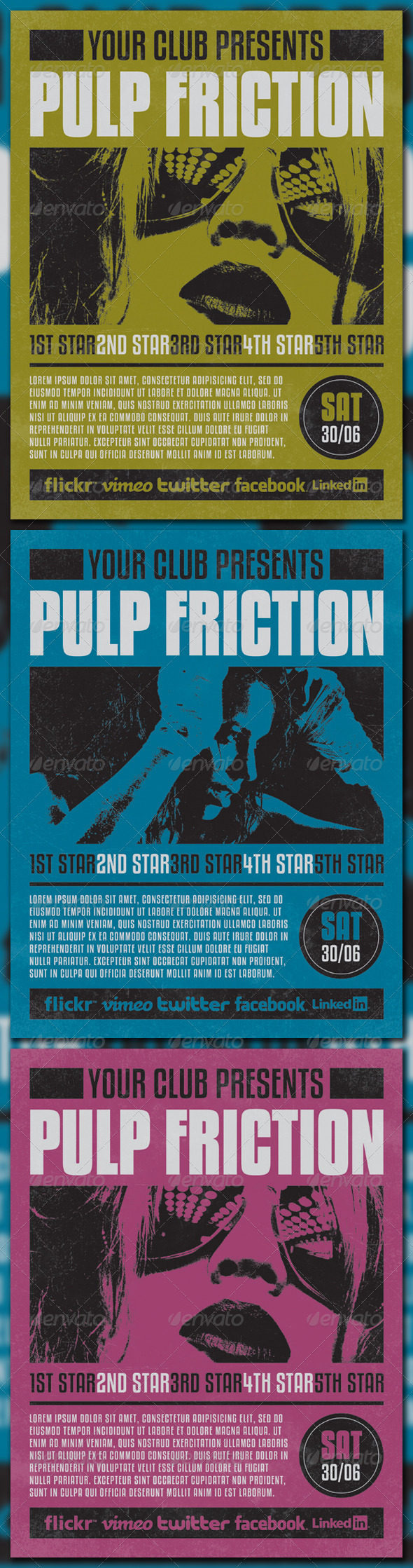 PULP FRICTION - Clubs & Parties Events