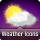 15 Weather Icons in Vector and Raster formats. - GraphicRiver Item for Sale