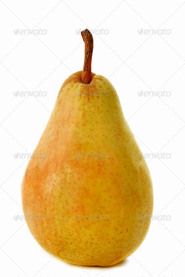 guyot pear - Stock Photo - Images