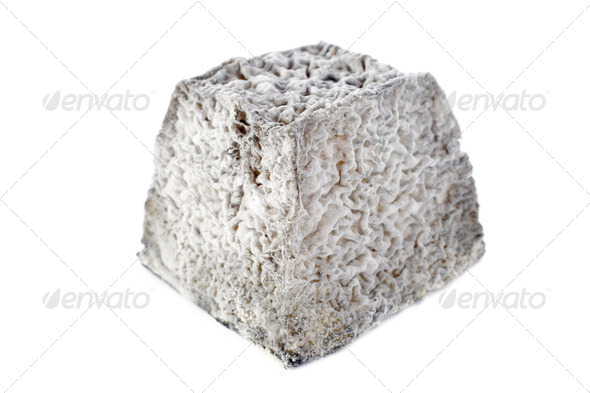 goat cheese Valencay - Stock Photo - Images